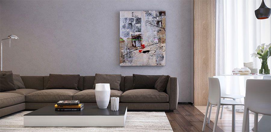 Quadri per soggiorno moderno 06 | Quadri | Pinterest