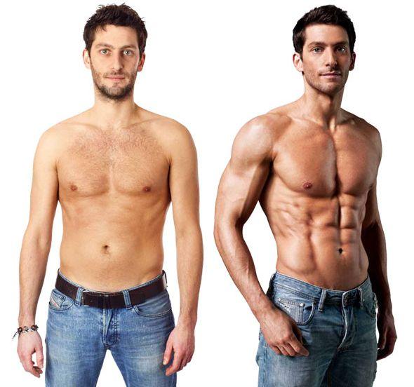 Skinny fat men