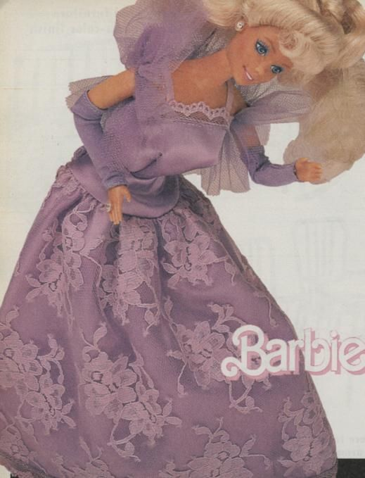 sears exclusive lavender and lovely barbie