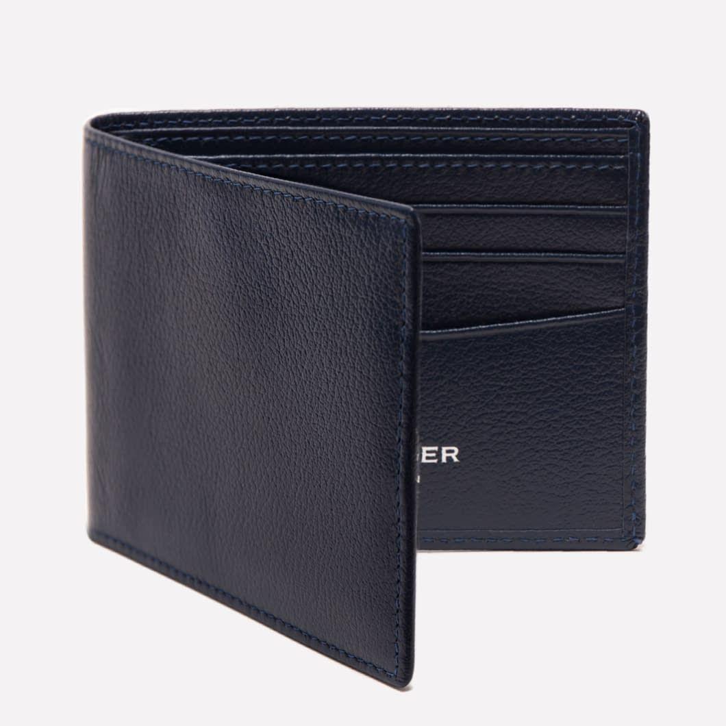Billfold wallet with 6 cc ettinger london billfold