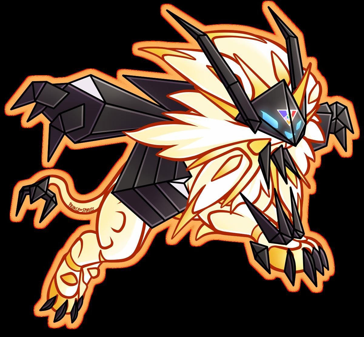 Prince Of Spirits Ultra Solgaleo And Ultra Lunala Pokemon