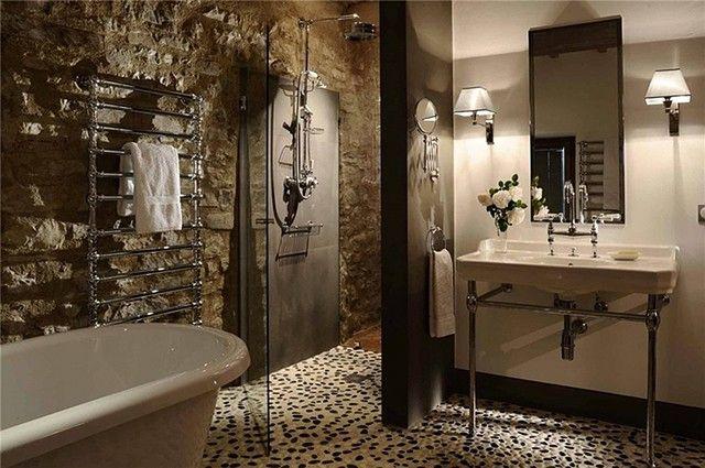 Amazing bathroom design using Black and White Pebble Tile flooring on amazing brown bathrooms, amazing simple bathrooms, amazing modern bathrooms, amazing cabin bathrooms, amazing country bathrooms, amazing natural bathrooms, amazing black bathrooms, amazing victorian bathrooms, amazing beach bathrooms, amazing small bathrooms, amazing blue bathrooms, amazing exotic bathrooms, amazing romantic bathrooms, amazing white bathrooms,