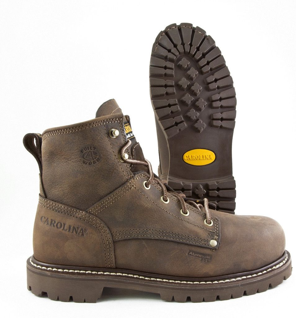 Carolina Aluminum Toe EH Rated Safety Work Boot (CA2528) | Work ...