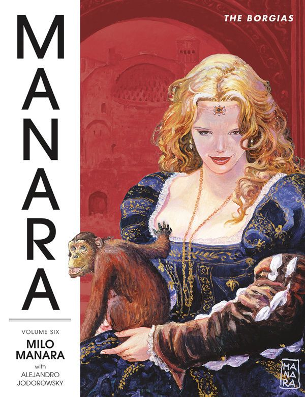Via Preview  Dark Horse Comics The Manara Library -8644