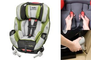 The Best Convertible Car Seats For Your Baby Evenflo Symphony DLX Seat