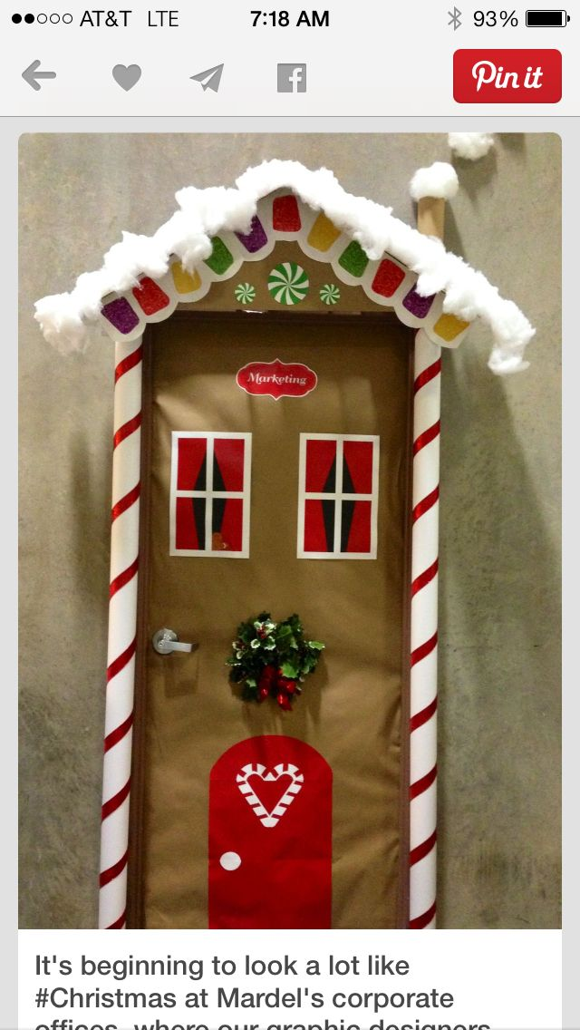Christmas door | Room mom parties/crafts, etc ...