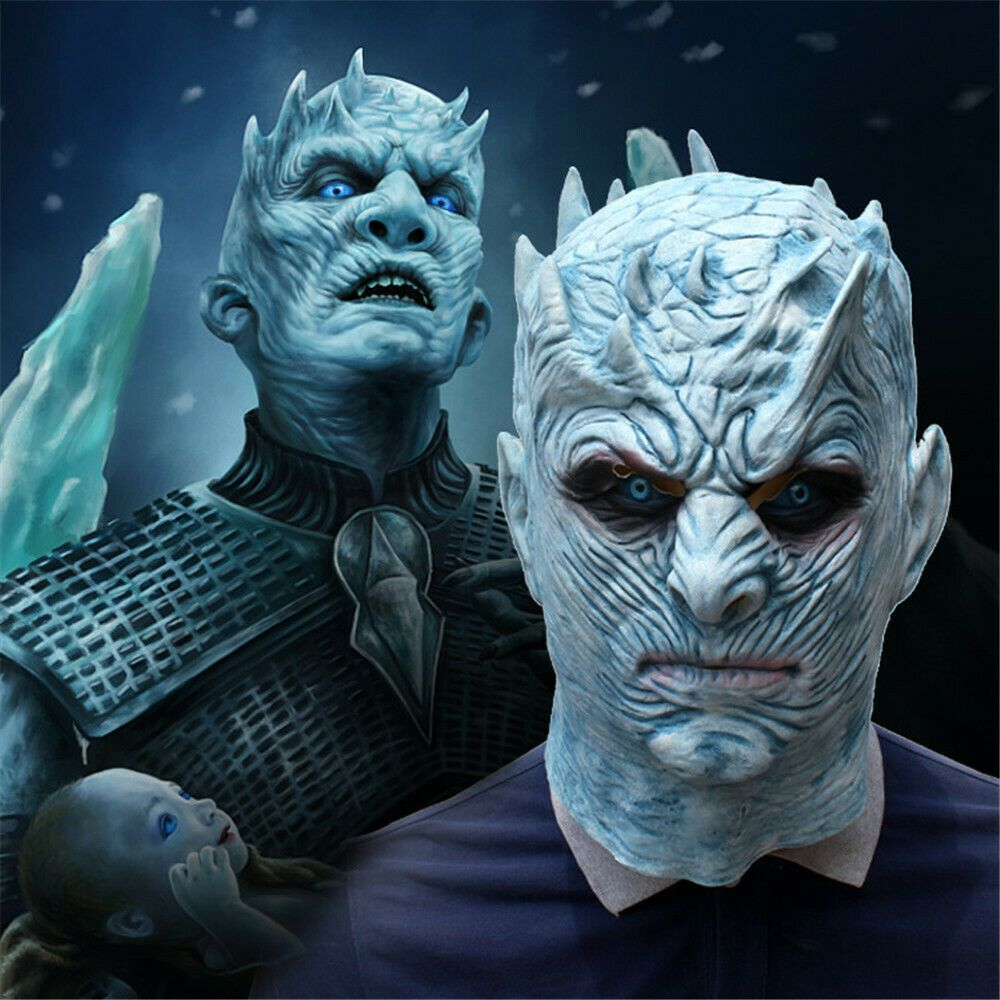 Game Of Thrones Halloween Mask Night/'s King Walker Face Zombie Mask Cosplay UK