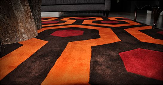 Custom Made Rug Same Pattern As The Carpet From The Shining Floor Coverings Carpet Flooring Rugs Carpet