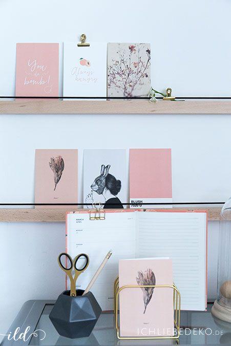 Fotos Aufhängen Kreativ : diy bilderleiste aus holz f r eine postkartengalerie bild leiste wanddeko ideen und bilderleiste ~ Watch28wear.com Haus und Dekorationen