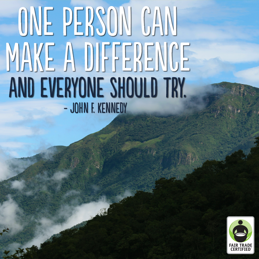You Can Make A Difference. Don't Let Anyone Ever Tell You