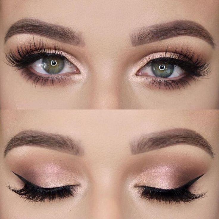 Natural smokey eye. #makeup #truccosposa #love #simply #eyes
