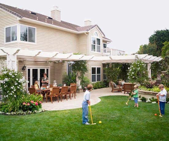 großen Garten gestalten-Tipps Ideen | Garten | Pinterest | Garten ...