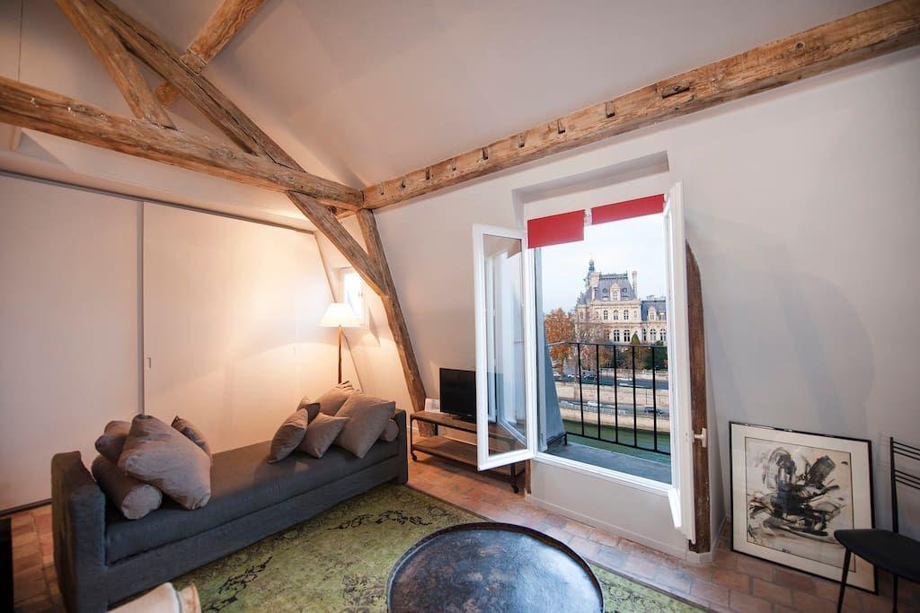 Ganhe uma noite no Sublime appartement ile de la cité - Apartamentos para Alugar em Paris no Airbnb!