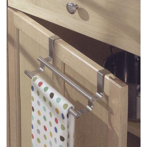 Double Over Cabinet Towel Bar Image Towel Bar Kitchen Towel Rail Kitchen Towels