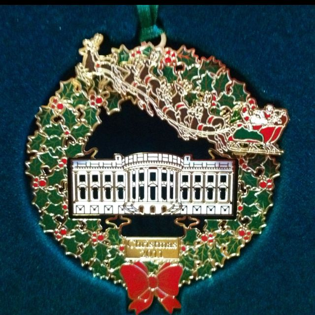 2011 White House ornament. | White house christmas ...