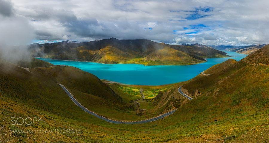 The qinghai-tibet plateau scenery 4 by shanyewuyu_100 via http://ift.tt/2gjz0wl