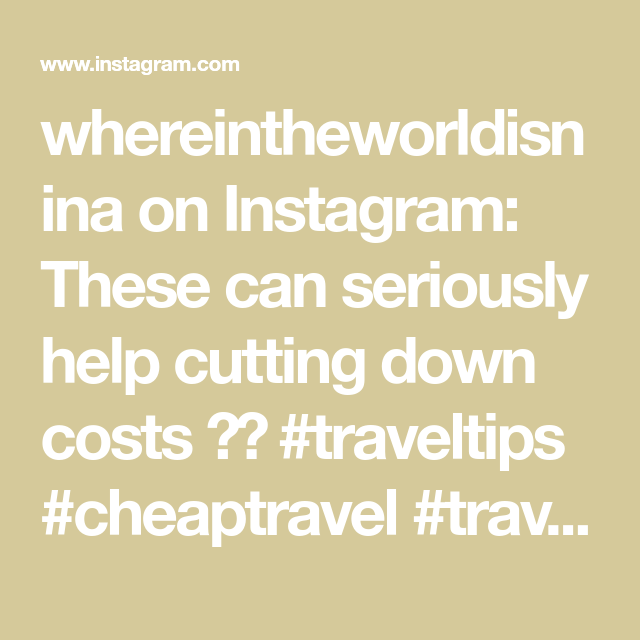 whereintheworldisnina on Instagram: These can seriously help cutting down costs 😊👍 #traveltips #cheaptravel #travelfree #travelwithme