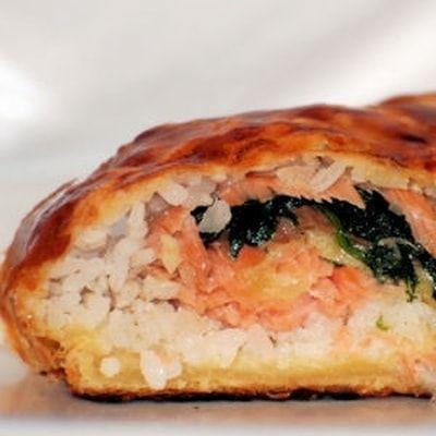 feuilleté au saumon fumé : 25 recettes avec de la pâte feuilletée