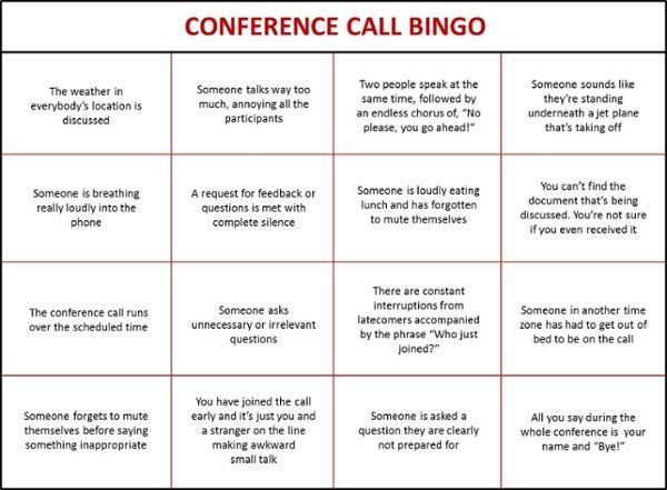Team building bingo sheets