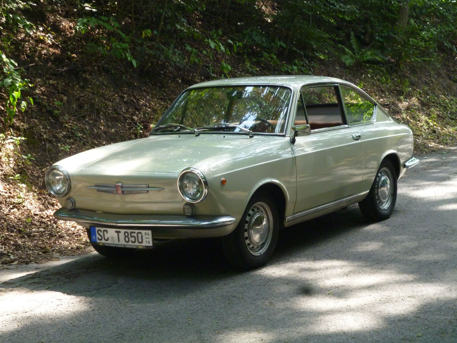 Fiat 850 Coupe In Einmaligen Zustand As Sports Car Coupe In Schwabach