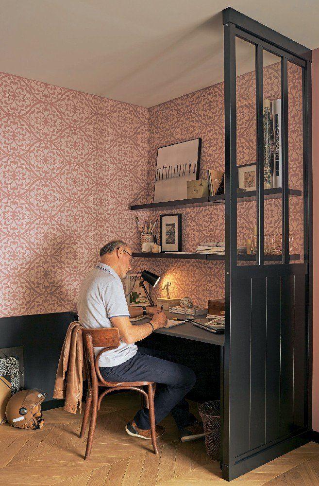 pingl par myl n sur bureau pinterest cloison amovible cloison et maison. Black Bedroom Furniture Sets. Home Design Ideas