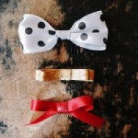 How To Make A Ribbon Bow -- 3 Ways Jade and Fern