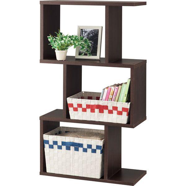 木製シェルフ・ウッドラック | ニトリ公式通販 家具・インテリア・生活 ... 〔幅59×奥行26.5×高さ107.4cm〕ディスプレイに最適な