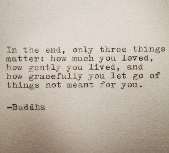 Buddha Quote Typed on Typewriter   Etsy
