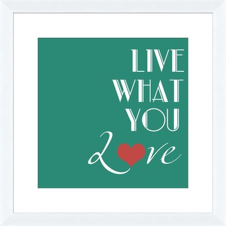 I pinned this Live What You Love II Wall Art from the Word for Word event at Joss and Main!