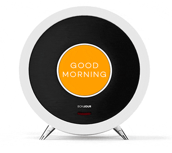 Bonjour Smart Alarm Clock With Artificial Intelligence Smart Alarm Alarm Clock Bonjour