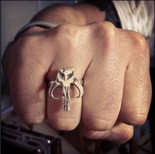 Mythosaur skull ring