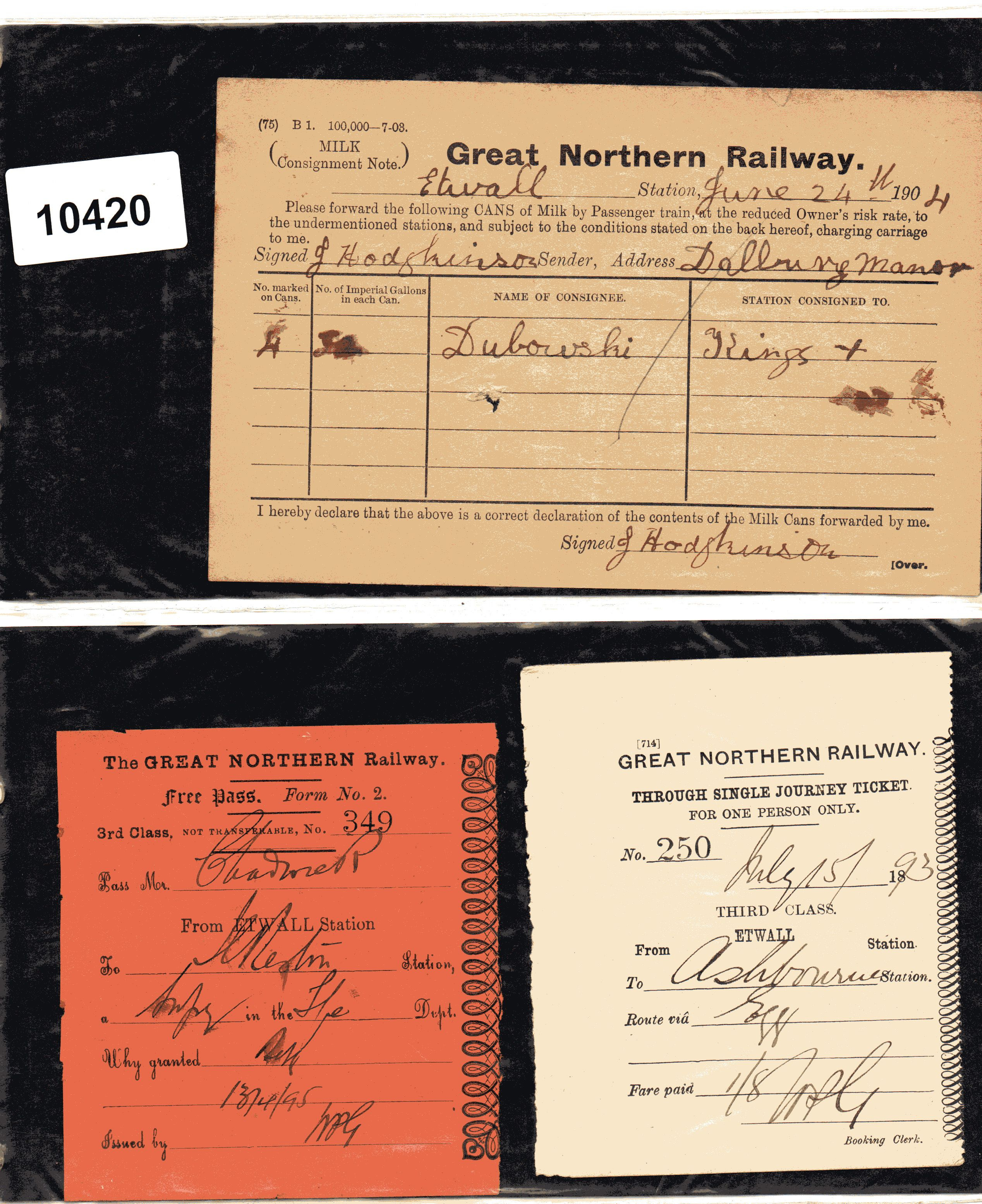 Chasewater Railway Museum Catalogue Archives  Gn Archives From