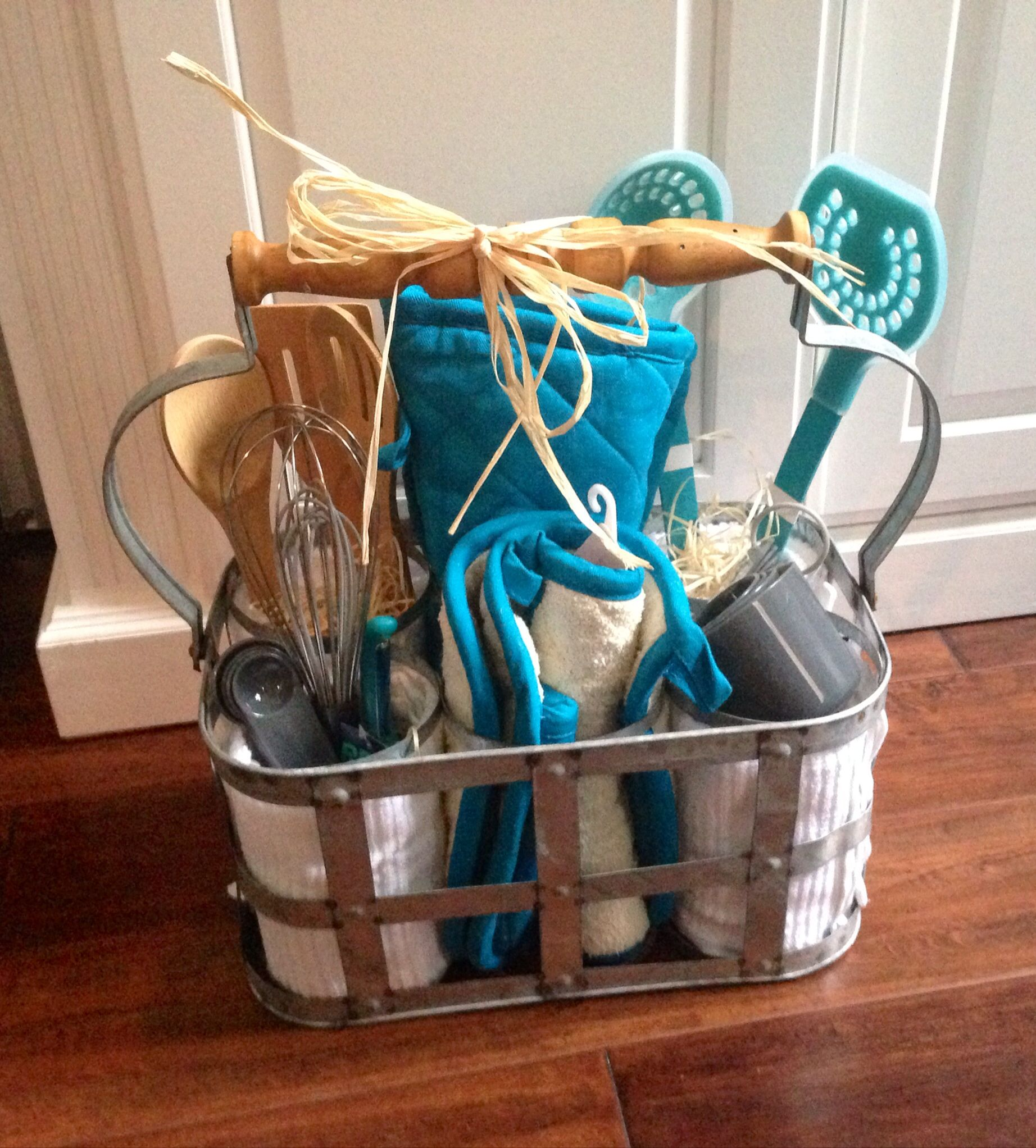 Bridal shower gift basket i made for a friend with