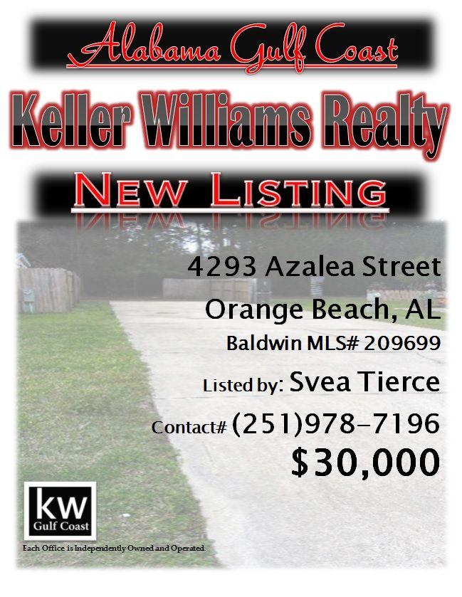 4293 Azalea Street Orange Beach Al Mls 209699 30 000 Located In Azalea Village Rv Resort In Orange Beach Real Estate Gulf Coast Home Buying Process