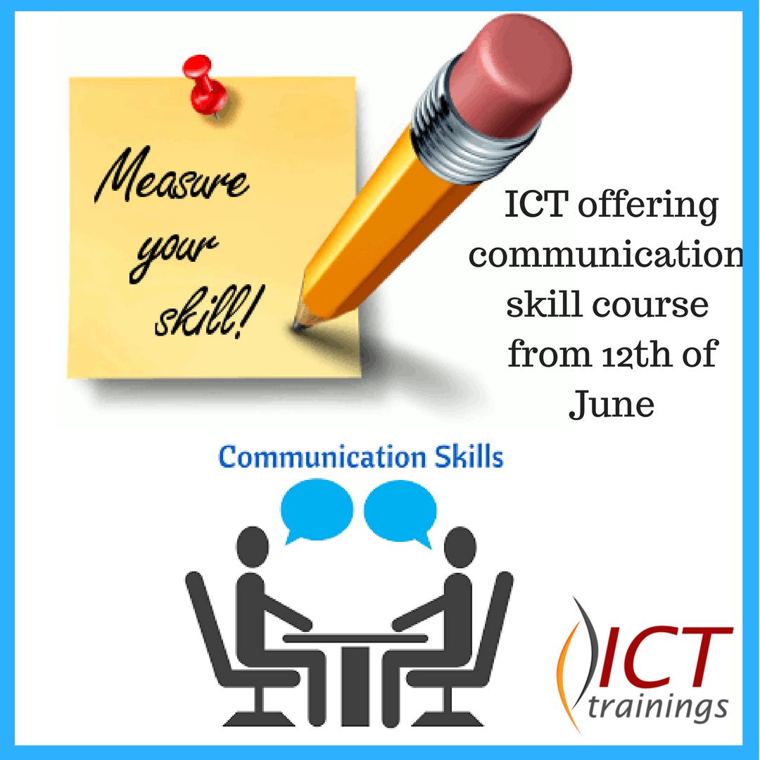 English Learning Program Is Ict Training S Great New Way To Learn English And Quite A Departure From The Standard Writing Activities Communication Skills Ict