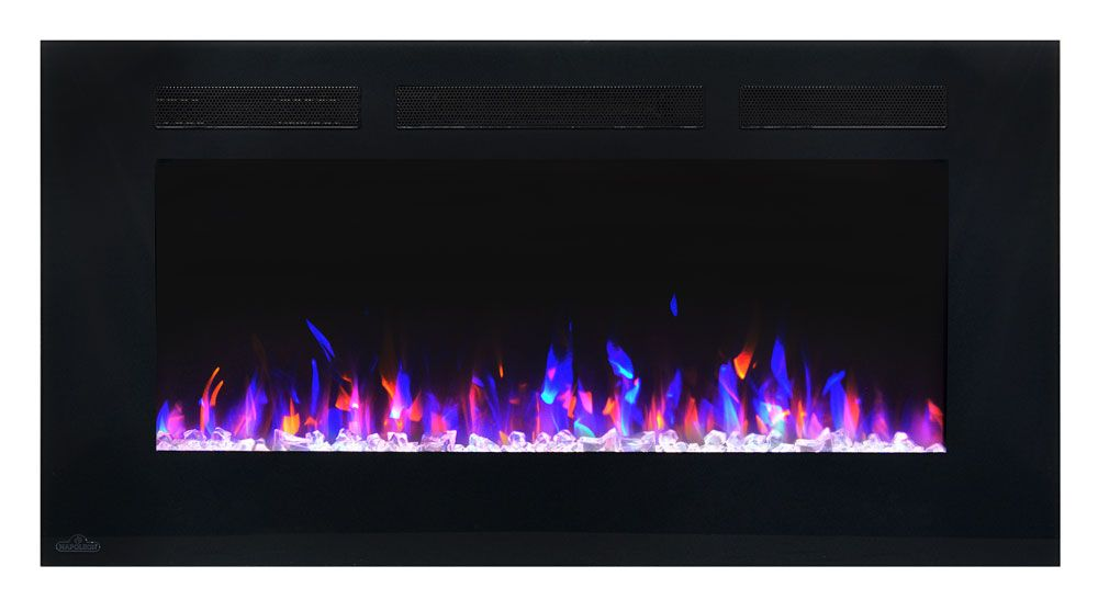 The Napoleon 50-Inch Allure Wall Mount Electric Fireplace- NEFL50FH offers one…