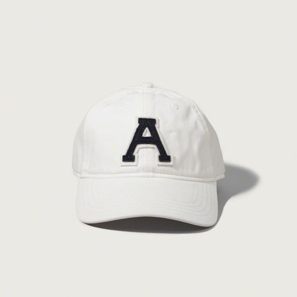 Abercrombie Fitch Accessories Abercrombie Fitch Womens: Abercrombie & Fitch Applique Logo Baseball Cap ($20) Liked