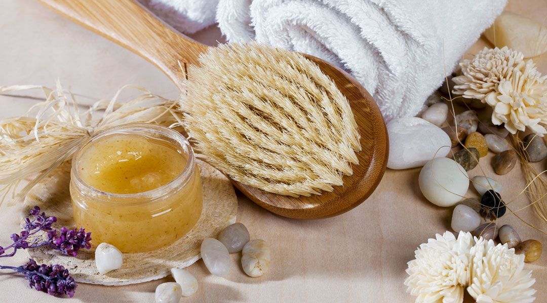 Exfoliate and replenish the moisture in your skin with