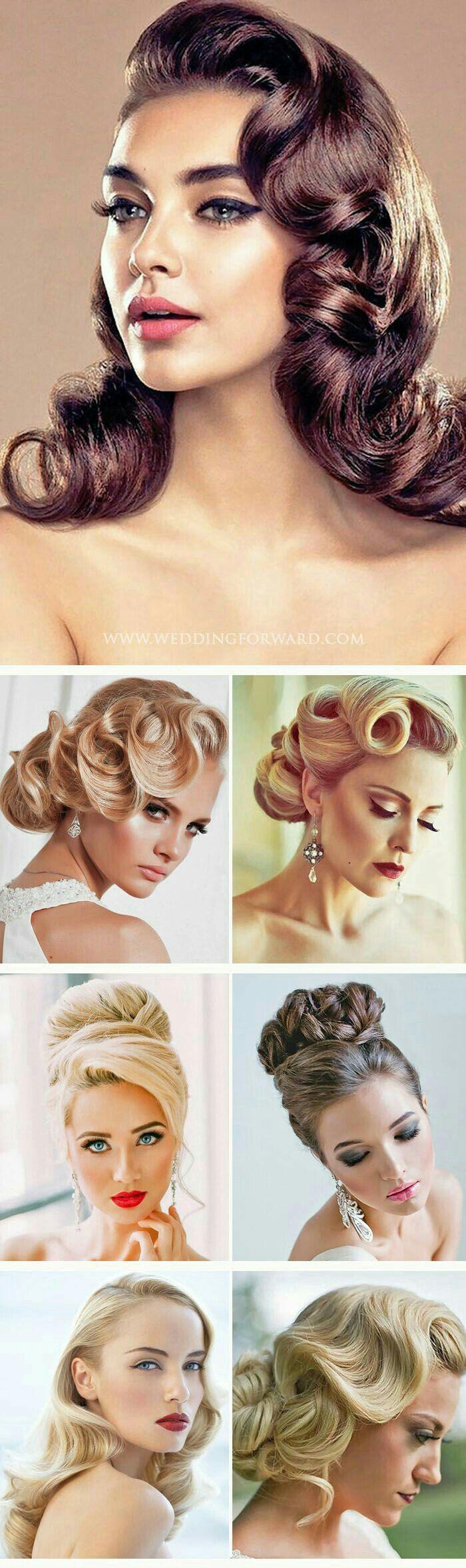 Pin by antonia ferguson on hair pinterest hair style vintage