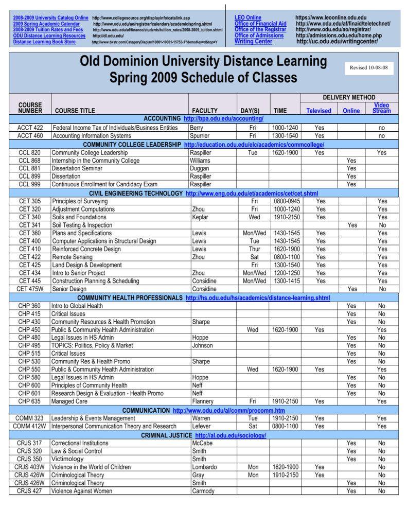 Odu Academic Calendar 2022.50 Odu Academic Calendar Fall 2017 Gq5k Academic Calendar Leo Online Writing Center