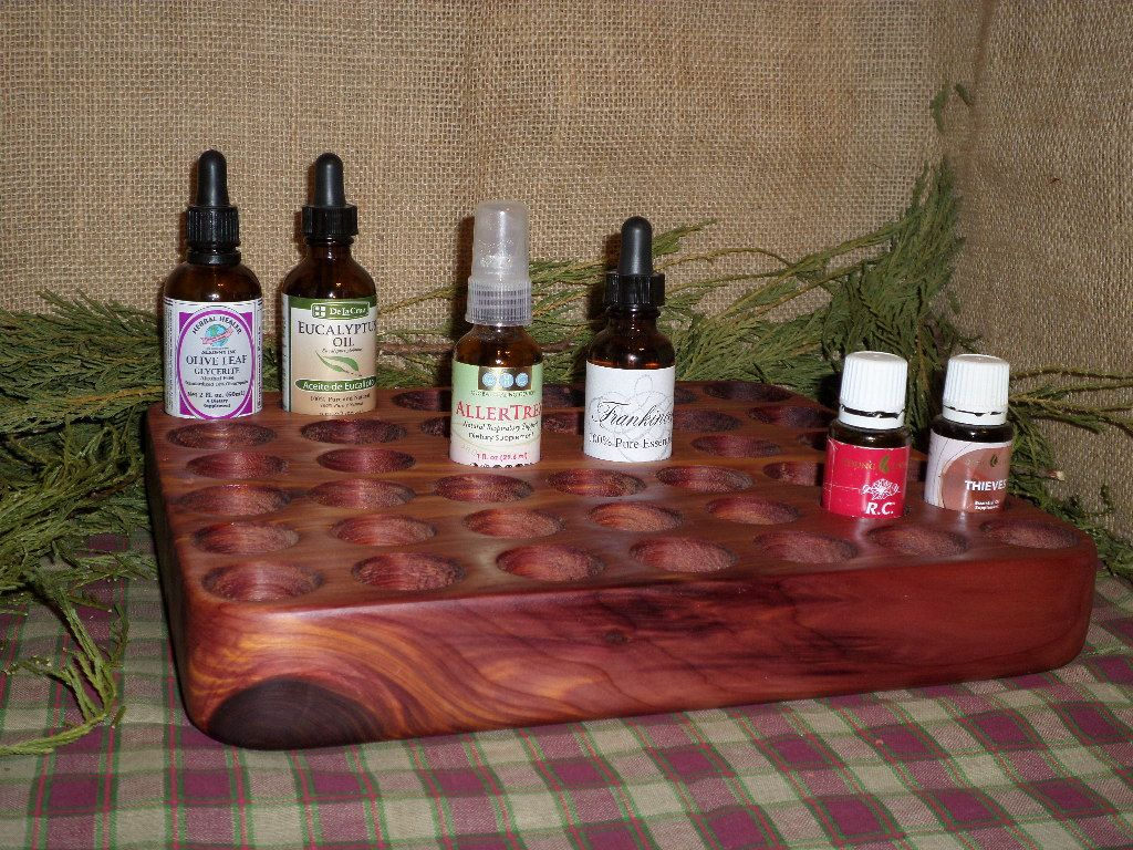 39 Bottle Solid Wood Essential Oil Holder for 15 30 60 ML, Young Living, doTERRA, Essential Oil Stand display shelf by WoodenShenanigans on Etsy