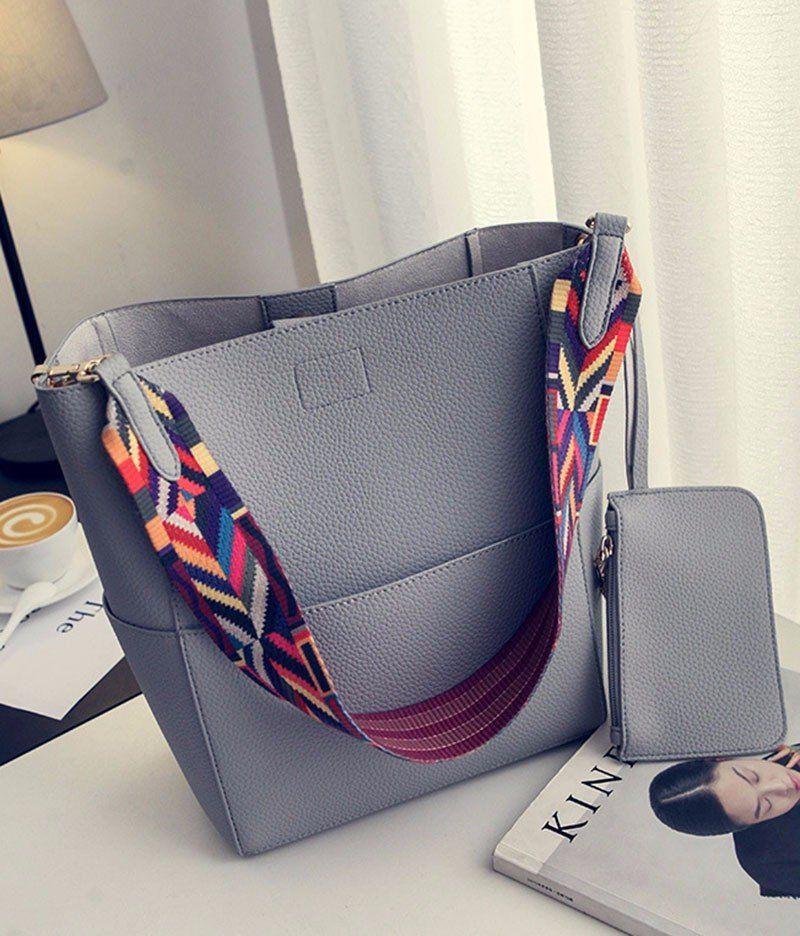 445c55ed71 Julia Kays™ TRIBAL strap bucket bag