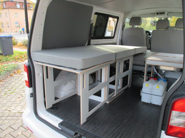 volkswagen t5 campmix womo mixto k che bett lkw kurz top. Black Bedroom Furniture Sets. Home Design Ideas