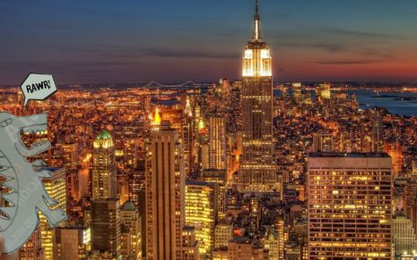 New York full of lights HD wallpaper