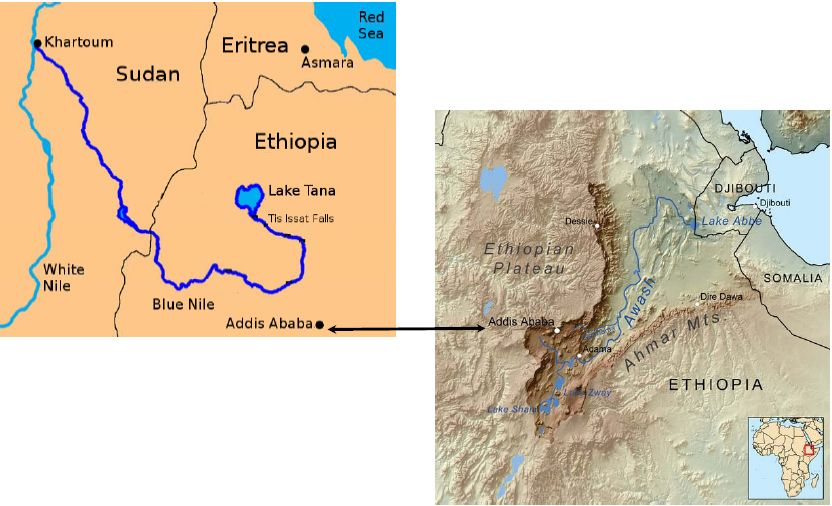 Nile River Map Nile River Valley On Map egypt Pinterest - new ethiopian plateau on world map