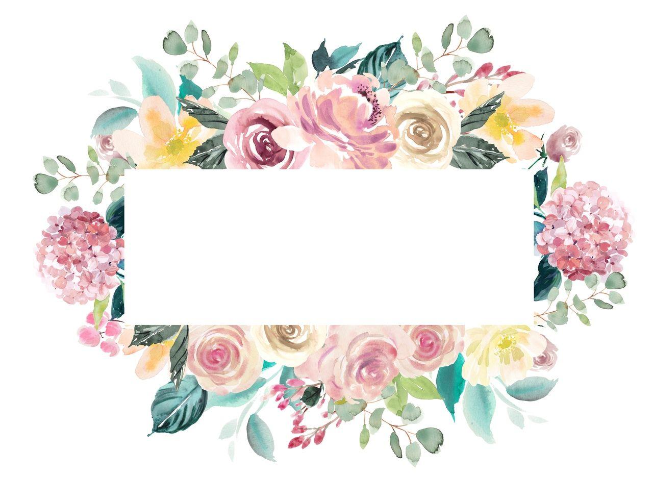 Картинки для надписей цветы