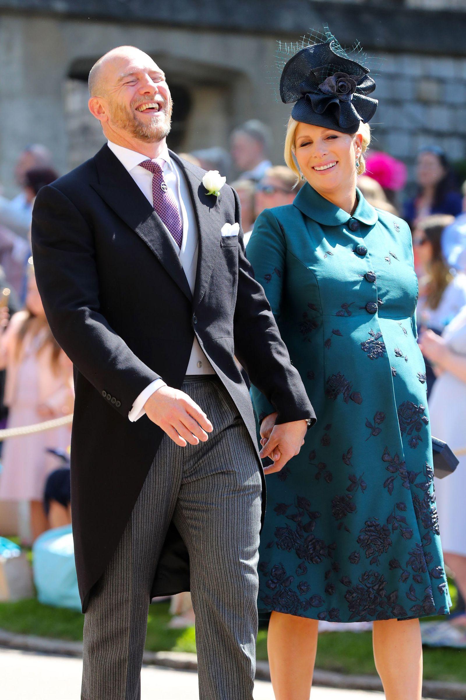 c73e7705 Mike Tindall and Zara Tindall Princess Eugenie, Princess Anne, Royal  Princess, Zara Phillips