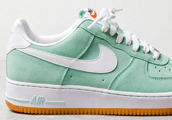 Nike Air Force 1 Low Arctic Green White Gum