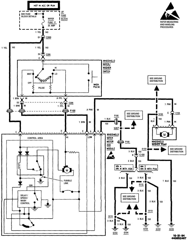 original on wiring diagram wiper motor