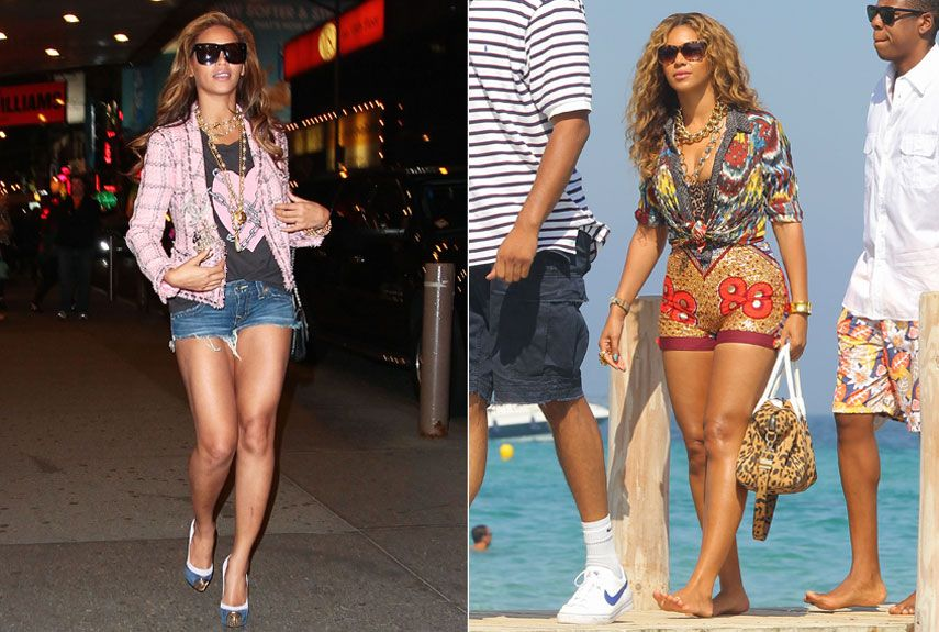 Beyonce Casual Style 2016